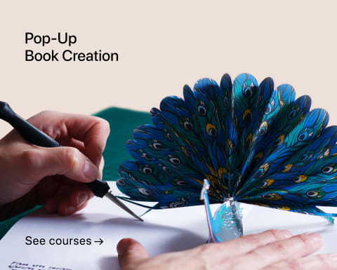 Pop-Up Book Creation. A course by Silvia Hijano Coullaut.