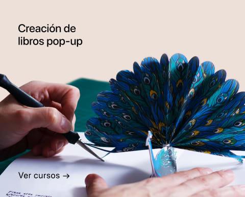 Creación de libros pop-up. Un curso de Silvia Hijano Coullaut.