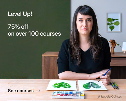 Level up: 75% off on over 100 courses. Limited time offer!