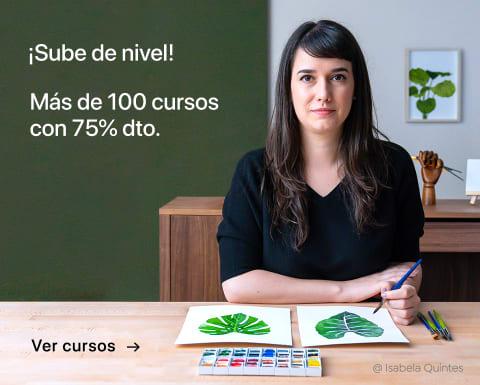 Sube de nivel: más de 100 cursos con 75% dto. ¡Por tiempo limitado!