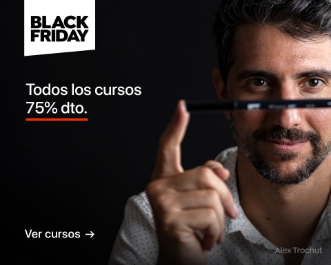 Black Friday: Cursos al 75% dto.