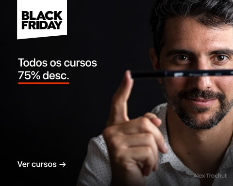 Black Friday: Cursos com 75% desc.