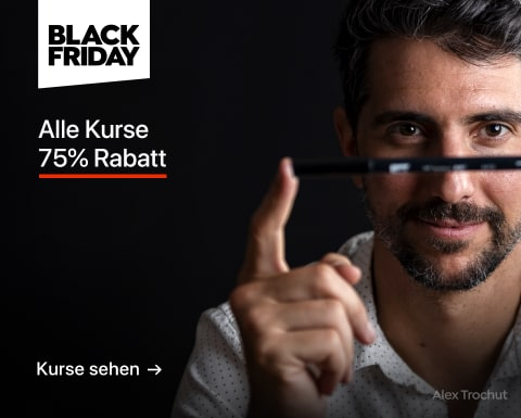 Black Friday: Kurse mit 75% Rabatt