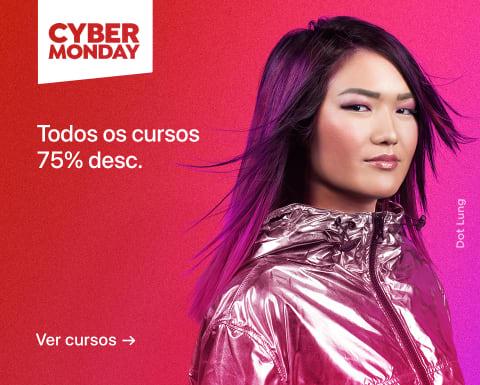Cyber Monday: Cursos com 75% desc.