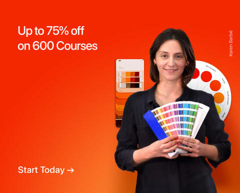 Up to 75% Off on Courses
