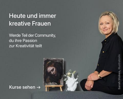 Künstlerisches Porträt mit Kohlestift: die Atmosphäre. Ein Kurs von Sarah Stokes.