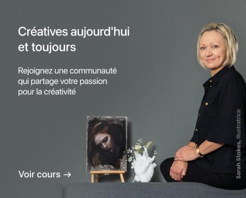 Portrait artistique au fusain : créer des ambiances. Un cours de Sarah Stokes.