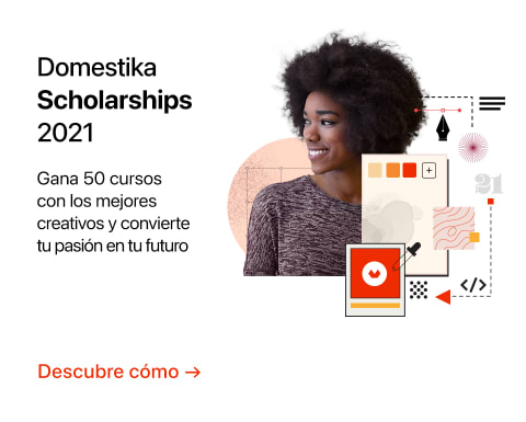 2110 - Domestika Scholarships 2021 - ES