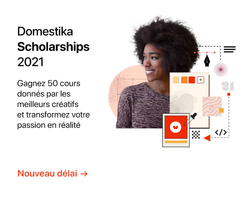 2115 - Domestika Scholarships 2021 - Extended - FR