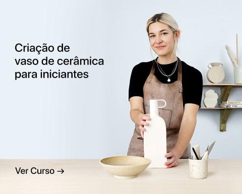 Criação de vaso de cerâmica para iniciantes. Um curso de Lilly Maetzig.