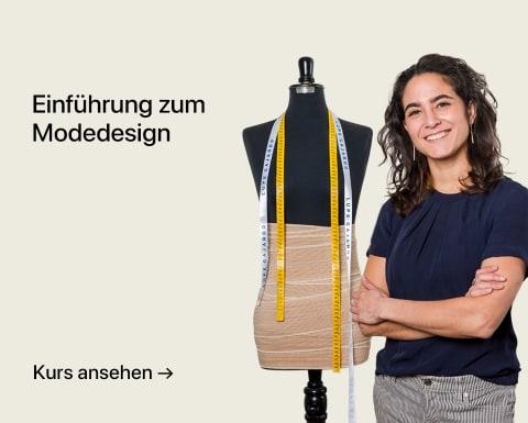 Einführung zum Modedesign. Ein Kurs von Lupe Gajardo.