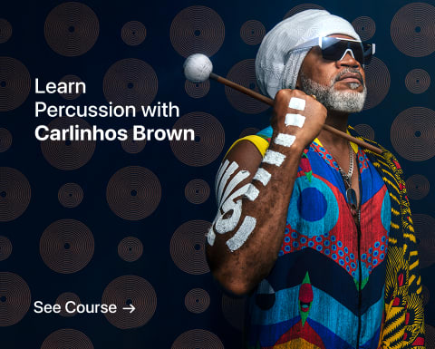 Introduction to Percussion: Discover the Magic of Rhythm. A course by Carlinhos Brown.