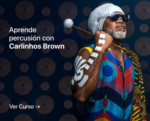 Introducción a la percusión: descubre la magia de los ritmos. Un curso de Carlinhos Brown.