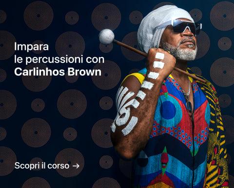 Introduzione alle percussioni: scopri la magia dei ritmi. Un corso di Carlinhos Brown.