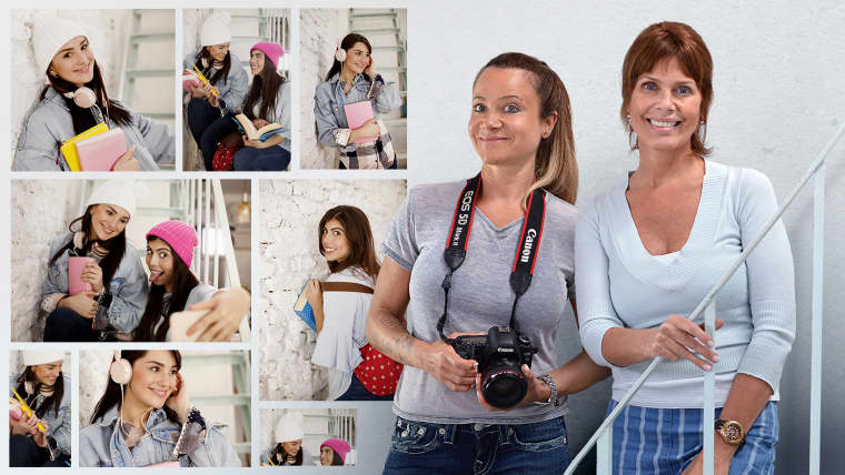 Fotografía para bancos de imágenes