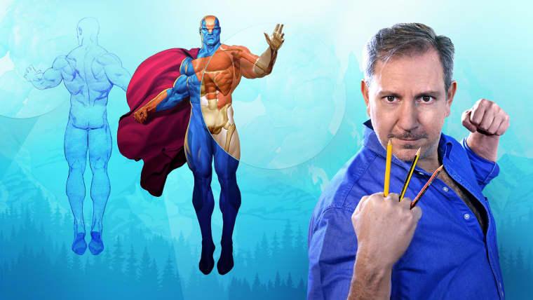 Ilustração para quadrinhos: a anatomia de um super-herói