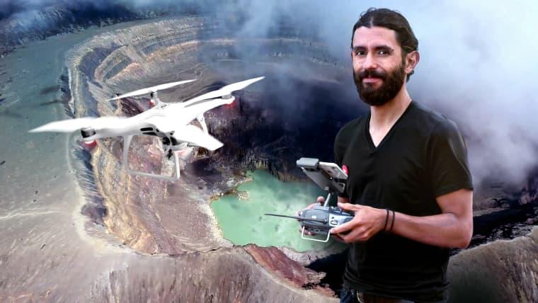 Introdução à fotografia aérea com drones