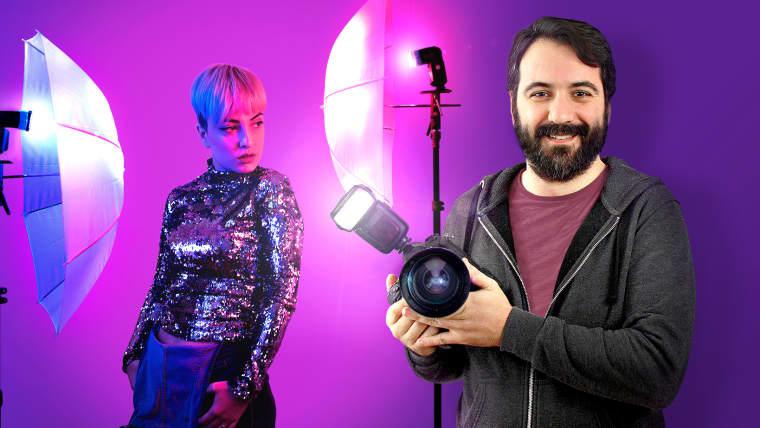Introducción a la iluminación fotográfica con flash de mano