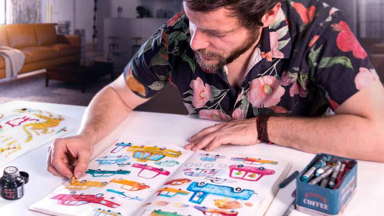 Técnicas de ilustração para desbloquear sua criatividade
