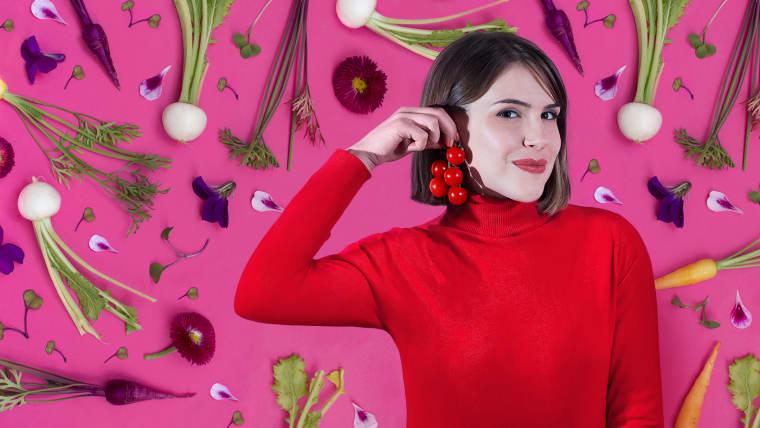 Gastronomische Kreativität und Musterkomposition