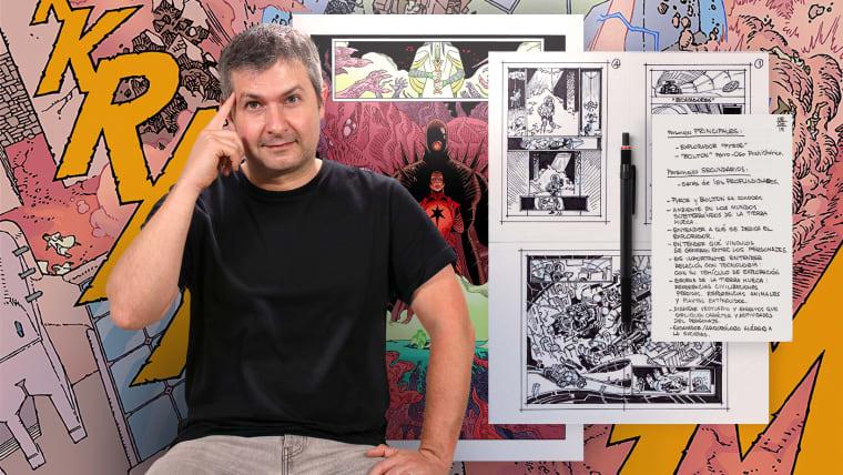 Capturando histórias em quadrinhos de fantasia