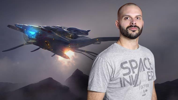 Entwurf und Modellierung eines Science-Fiction-Schiffs in 3D