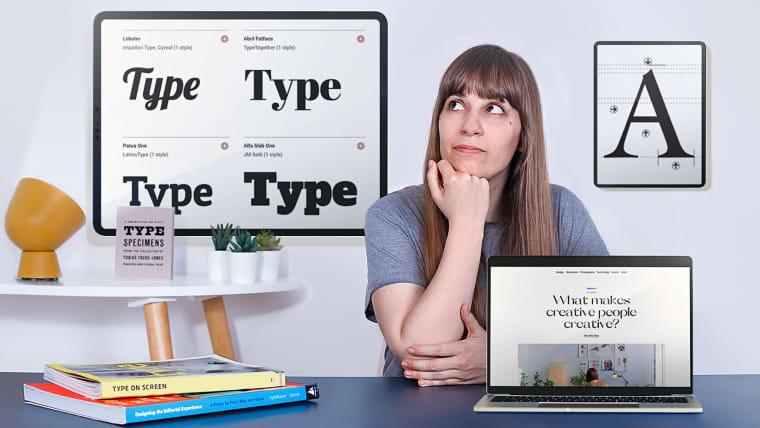 Conceitos de tipografia para telas