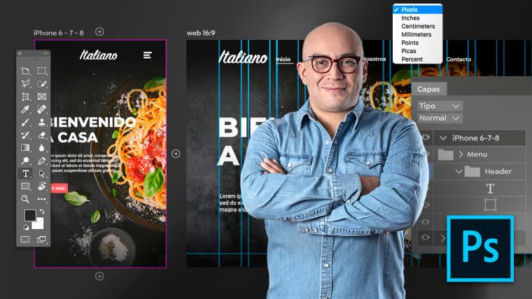 Adobe Photoshop pour web design