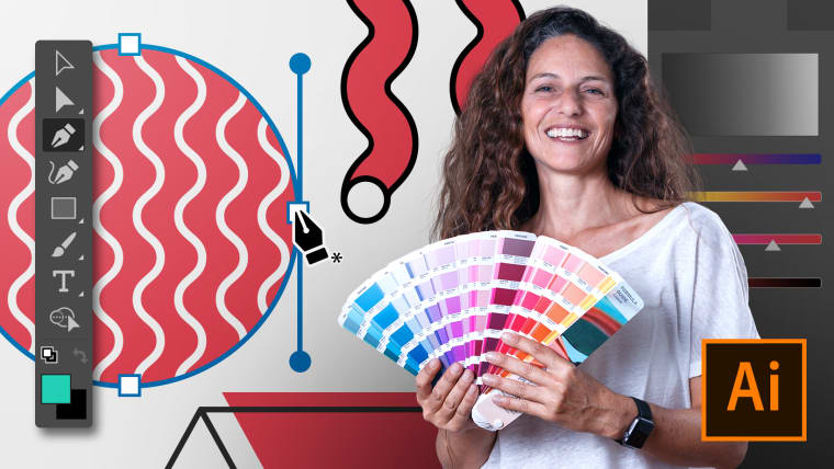 Adobe Illustrator pour le design graphique