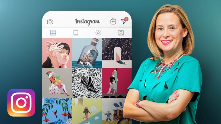 Creating an Illustration Portfolio on Instagram