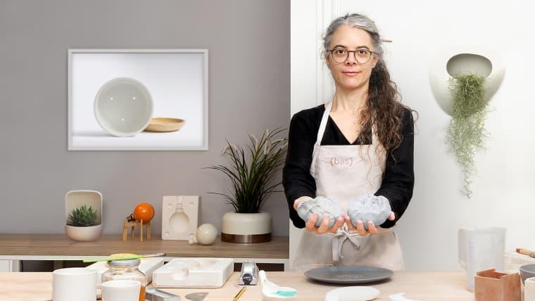 Création de moules pour la reproduction de céramique