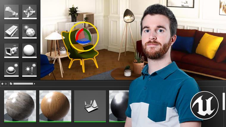 Einführung in Unreal Engine 4 zur Architekturvisualisierung