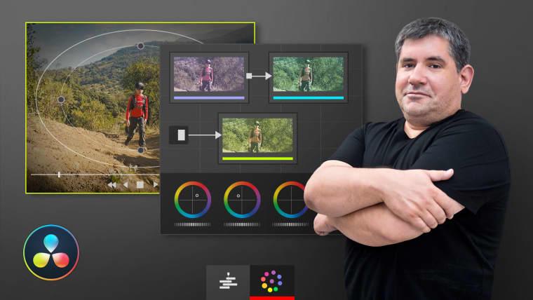 Edición y postproducción de una webserie con DaVinci Resolve