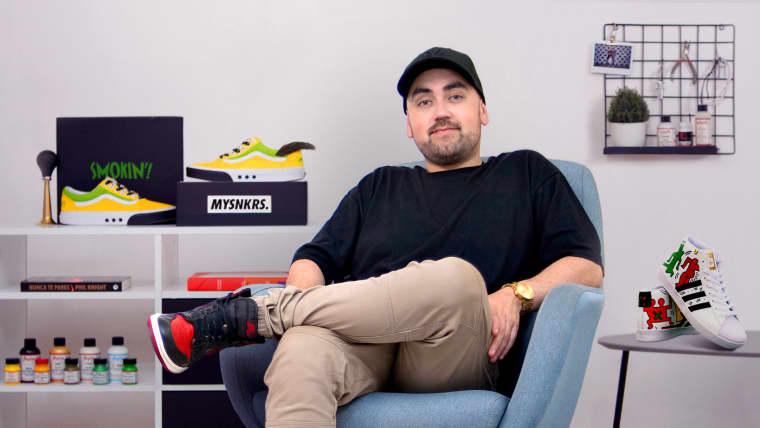 Restauración y personalización de sneakers