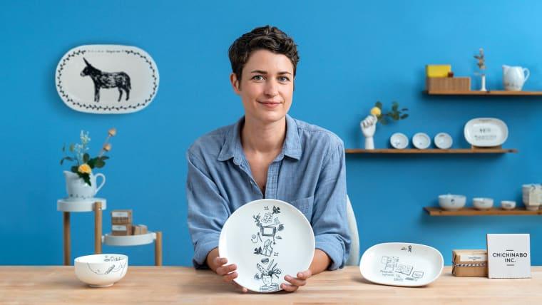 Dekoriere Keramik mit digitalen Transfers