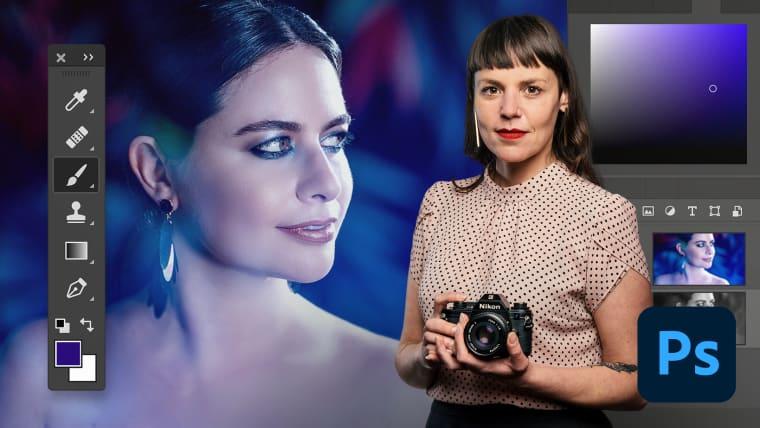 Édition photographique professionnelle avec Adobe Photoshop