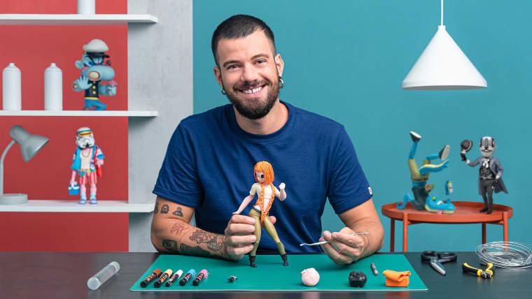 Design und Schöpfung von Art Toys: von der Person zur Figur