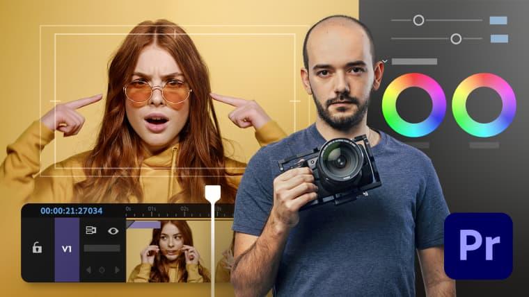 Adobe Premiere Pro per video editing