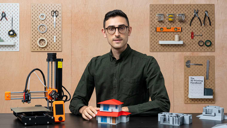 Design e impressão 3D de maquetes arquitetônicas