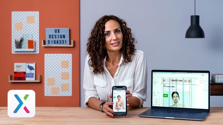 UX : prototypage et conception d'une application de commerce électronique avec Axure 9