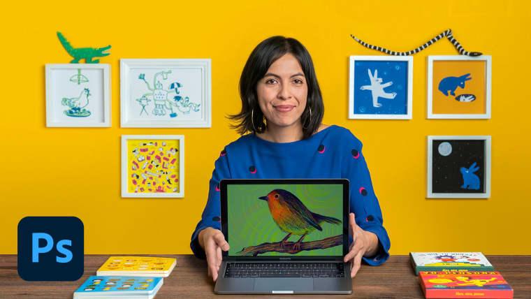 Ilustração de infográficos para crianças e jovens
