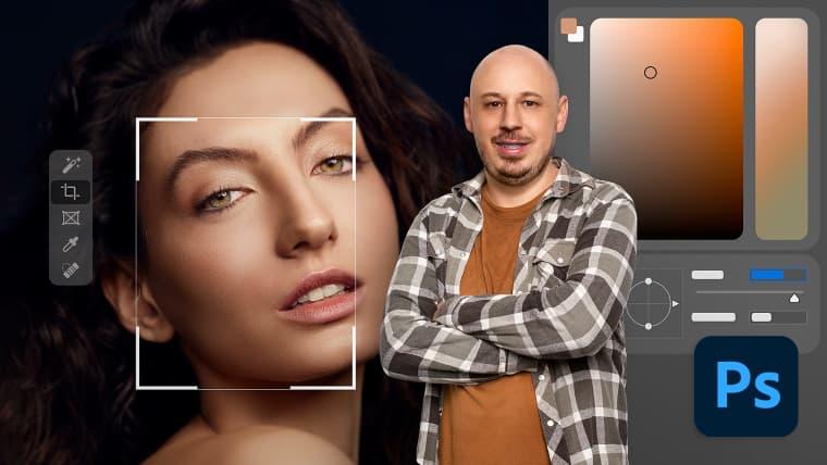 Professionelle Porträtretusche mit Photoshop
