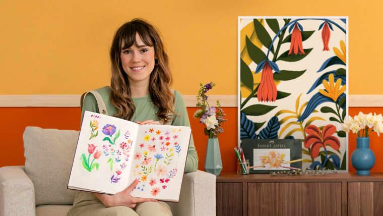 Floral Illustration and Pattern Design
