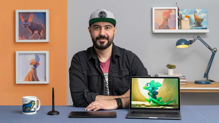 Charakterdesign: Illustriere eine ausdrucksvolle Kreatur