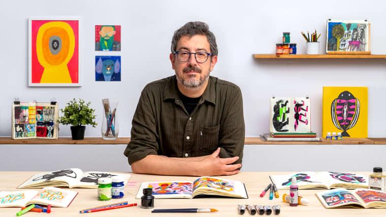 Artist's Notebook: Explore Illustration Techniques