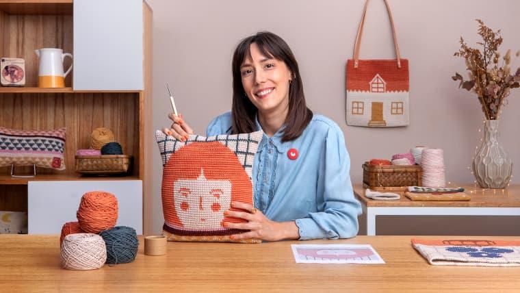 Tapestry crochet : technique de crochet pour dessiner avec du fil