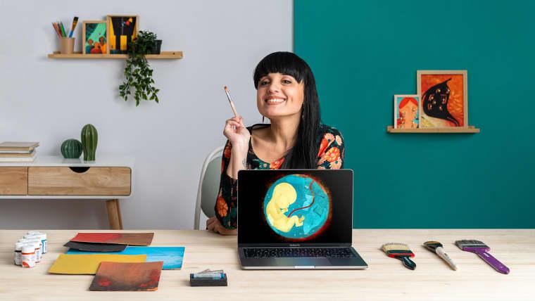 Ilustração com temática social: deixe sua marca artística