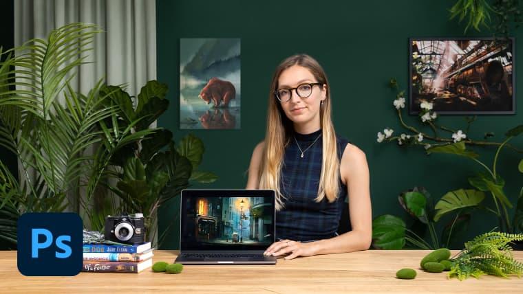 Ilustración digital cinematográfica con Photoshop