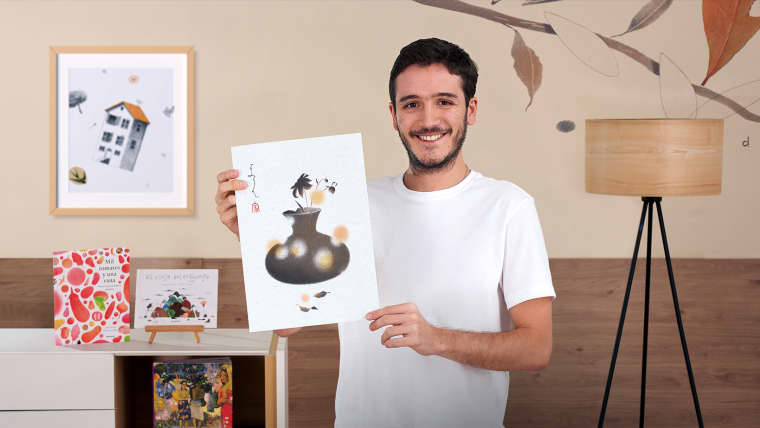 Disegno e collage per la illustrazione editoriale