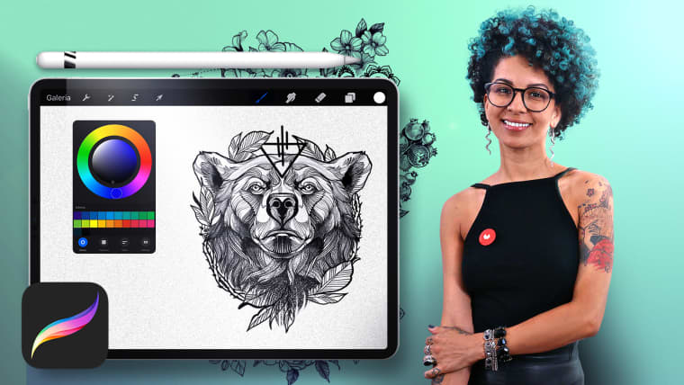 Digital Design and Illustration of Tattoos with Procreate